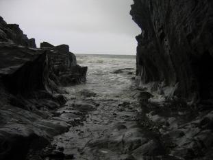 Narrow Sea inlet