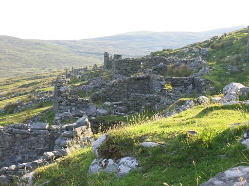Deserted Village Achill Island Co Mayo Passive