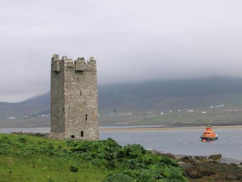 Achill Island Grainne Mhaol Tower