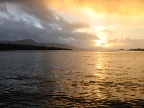 Sunset in Kenmare