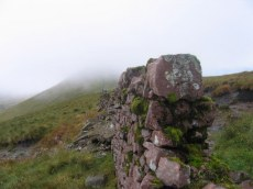 Ancient wall on Ladhar an Chapaill