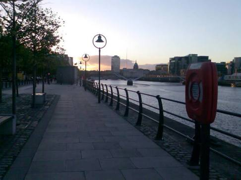 The Liffey from John Rogersons Quay