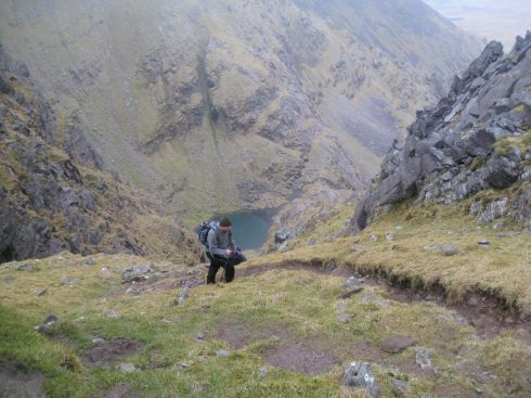 Ascending Shay's Gully