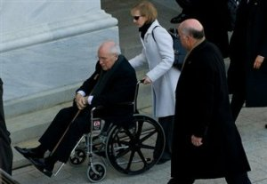 Cheney passes into history